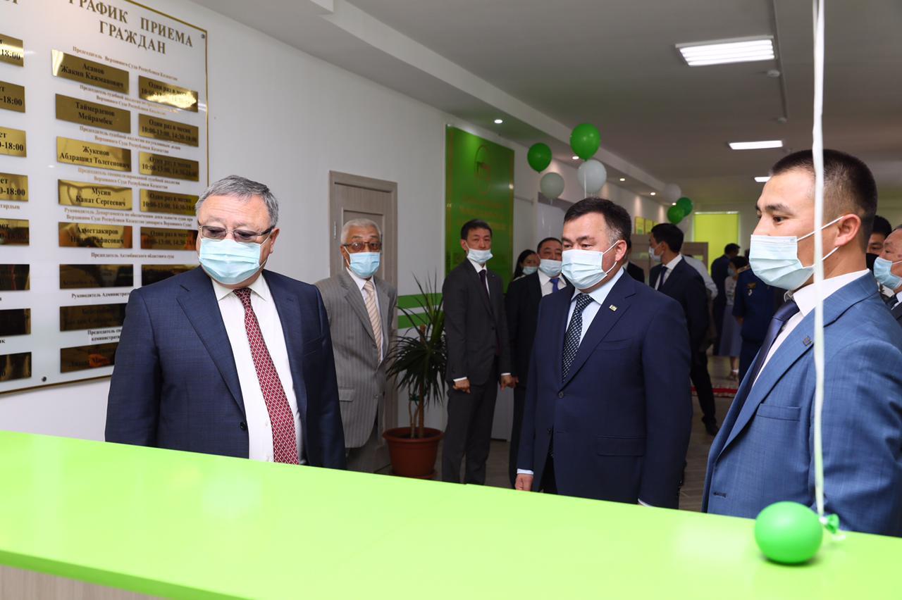 В Актобе открыли новый областной специализированный межрайонный административный суд