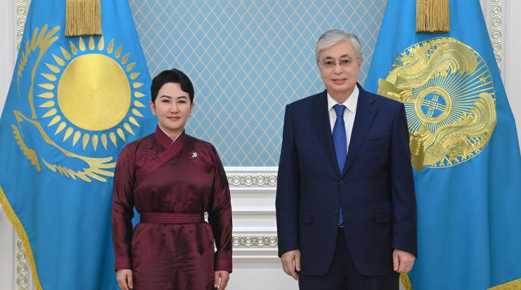 Касым-Жомарт Токаев пригласил своего монгольского коллегу с визитом в РК