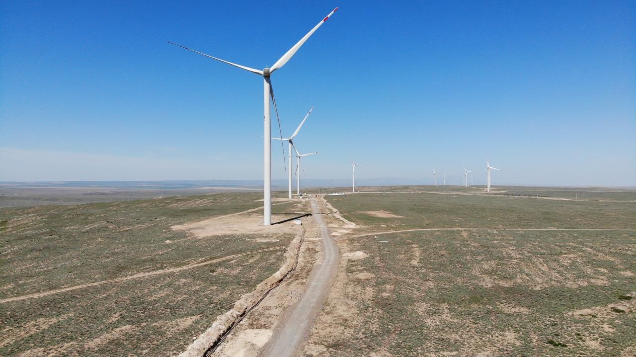 На 1,2 млрд тенге произвела продукции ветровая электростанция в Жамбылской области