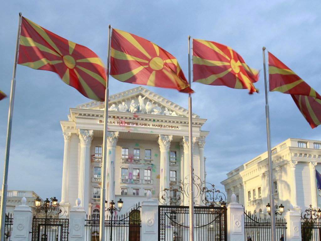 Парламент Македонии выступает за переименование страны, парламент, Македония