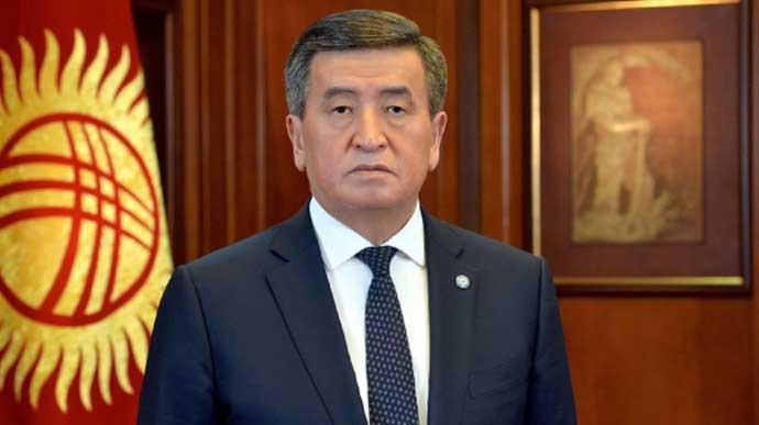 Президент Кыргызстана подал в отставку