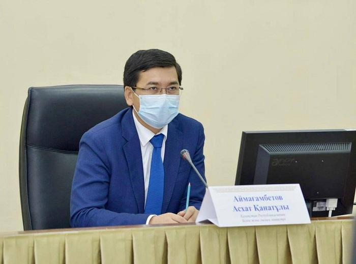 Асхат Аймағамбетов: Балалардың қауіпсіздігін арттыру қажет