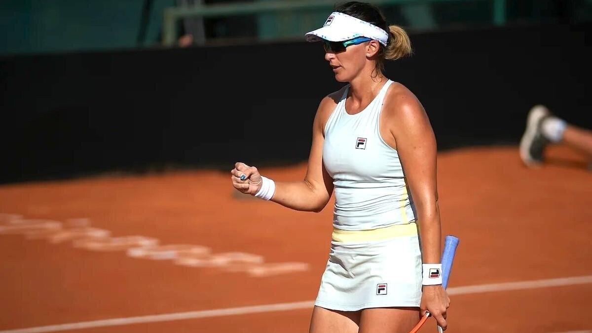 Ярослава Шведова вышла во второй круг турнира WTA в Риме