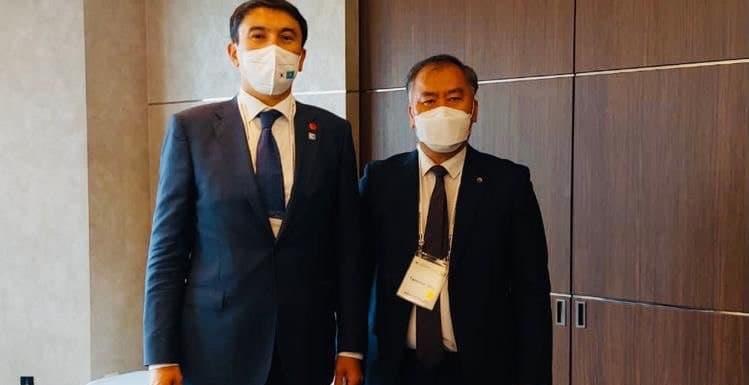 О чем говорил министр экологии РК с президентом корейской KIND