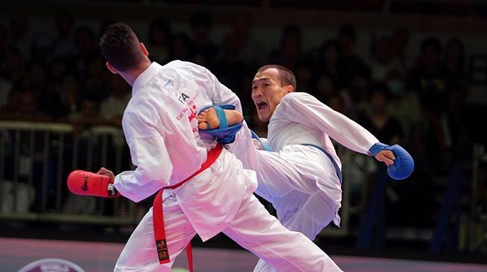 Премьер-лига серии А по каратэ: у казахстанцев три медали