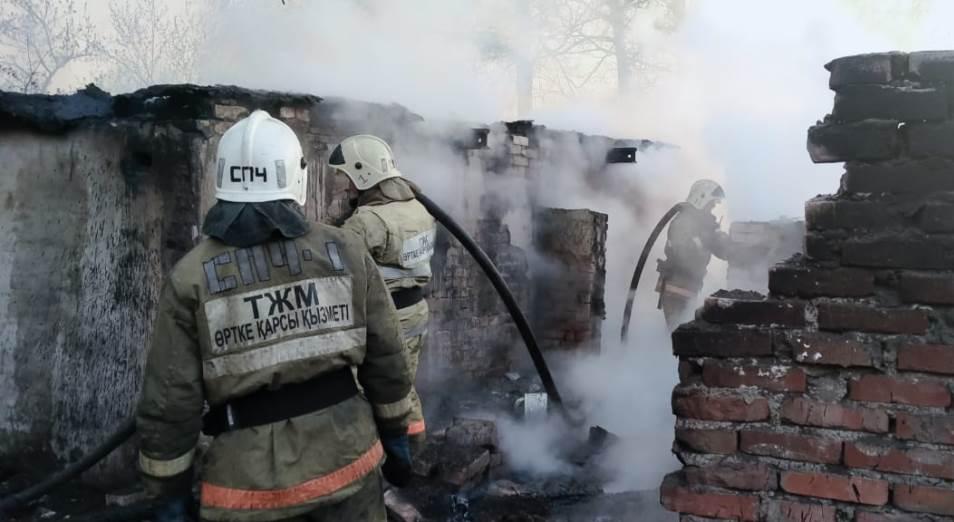 Страшный пожар в Риддере: новые подробности