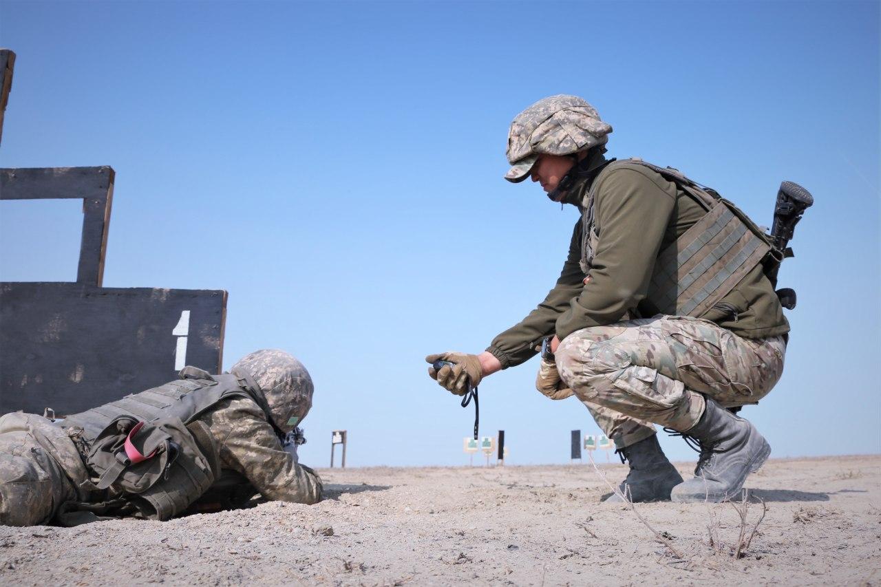 В Атырауском гарнизоне начались учения  войсковых разведчиков