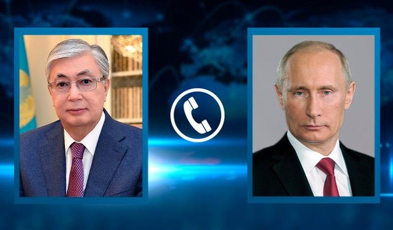 О чем Касым-Жомарт Токаев говорил с Владимиром Путиным