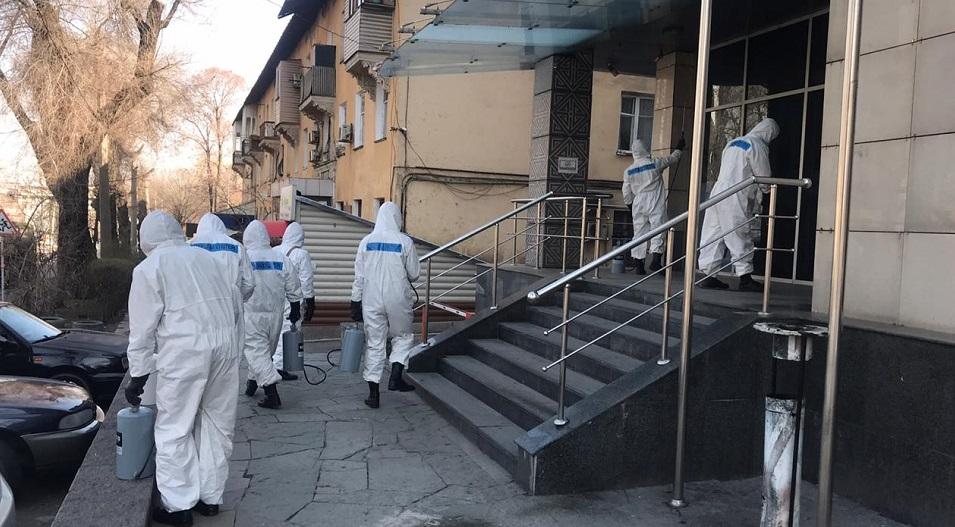 Армейские подразделения биозащиты привлечены к дезинфекции городов РК