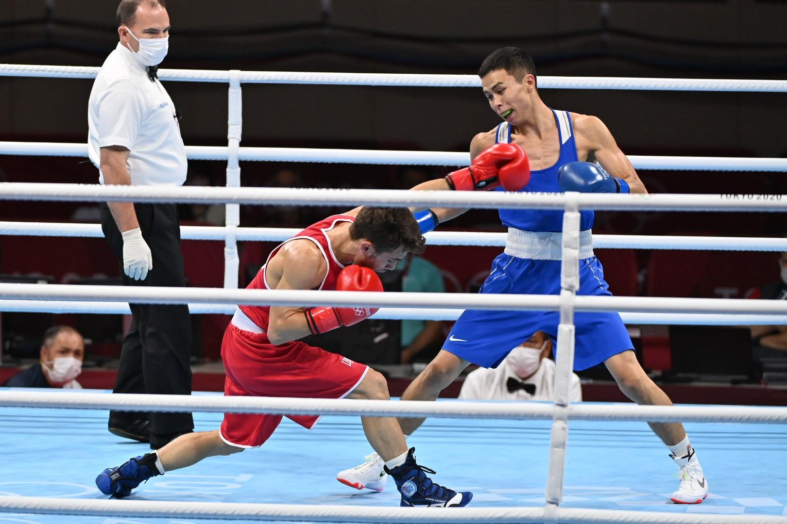 Боксер РК гарантировал себе медаль Олимпийских игр – 2020
