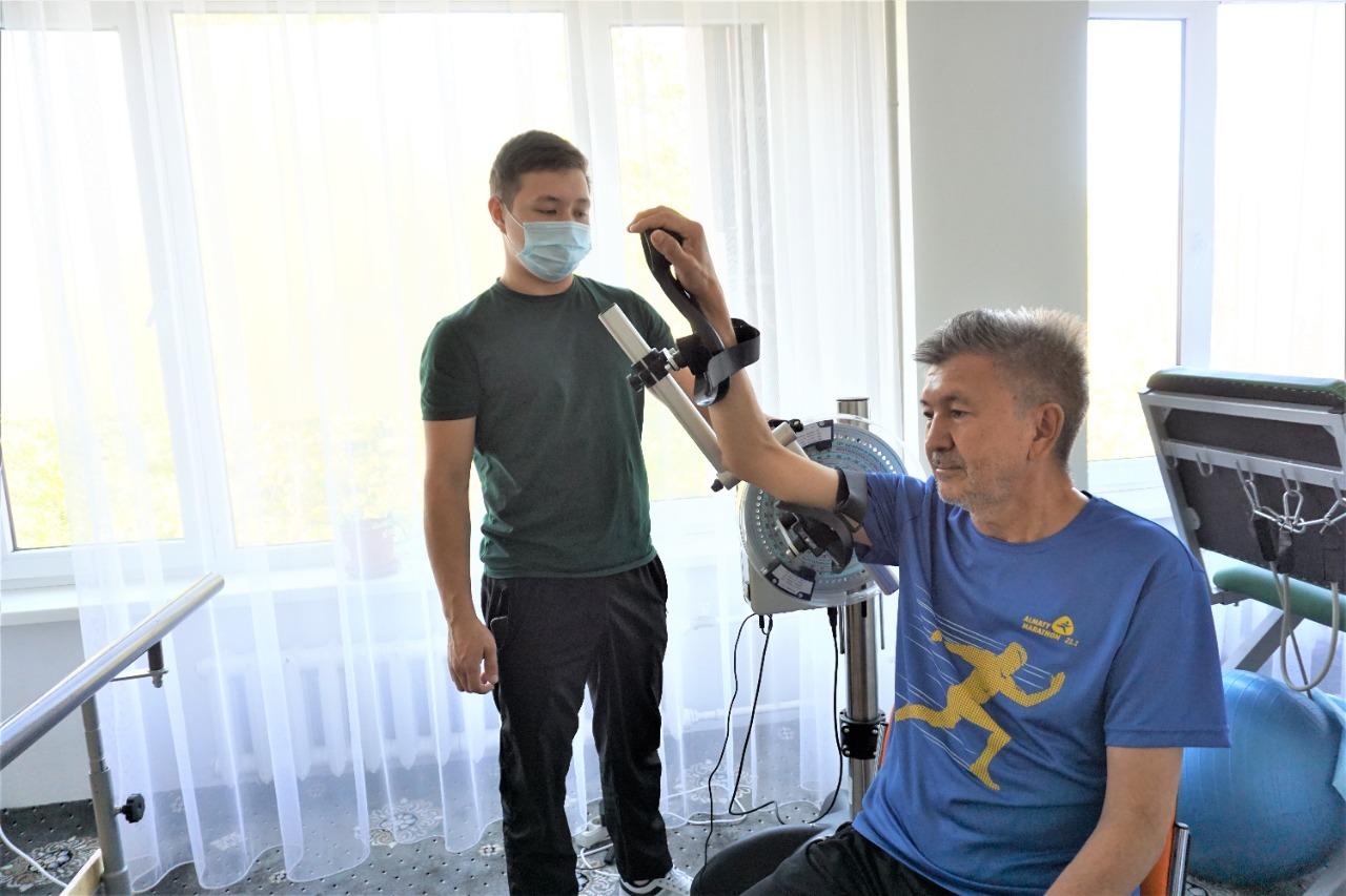 Где бесплатно пройти реабилитацию после  COVID-19 в Алматы
