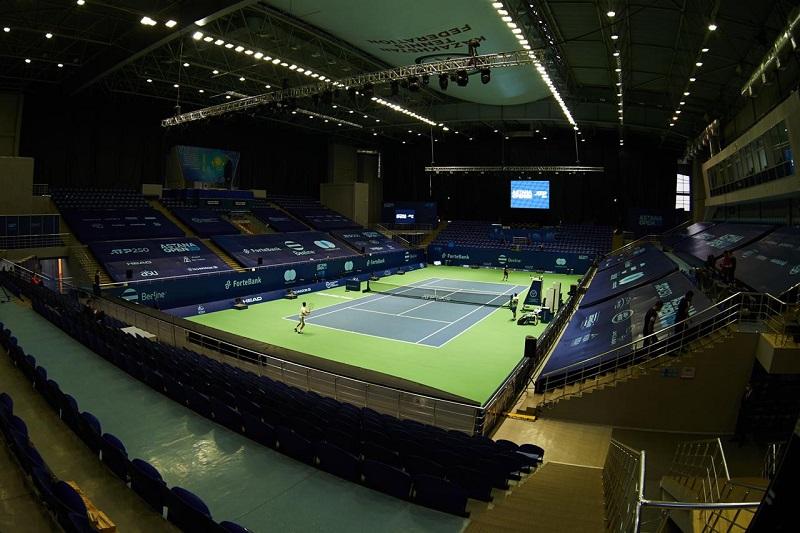 В Нур-Султане проходит престижный турнир ATP 250 Astana Оpen