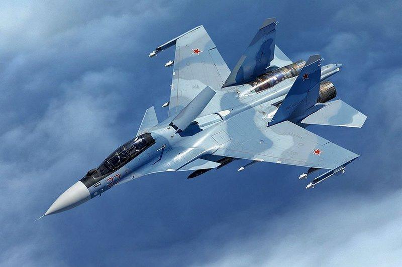 Истребитель Су-30 потерпел крушение в Карагандинской области