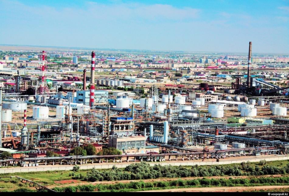 Атырауда биыл 23,4 млн тонна мұнай өндірілген