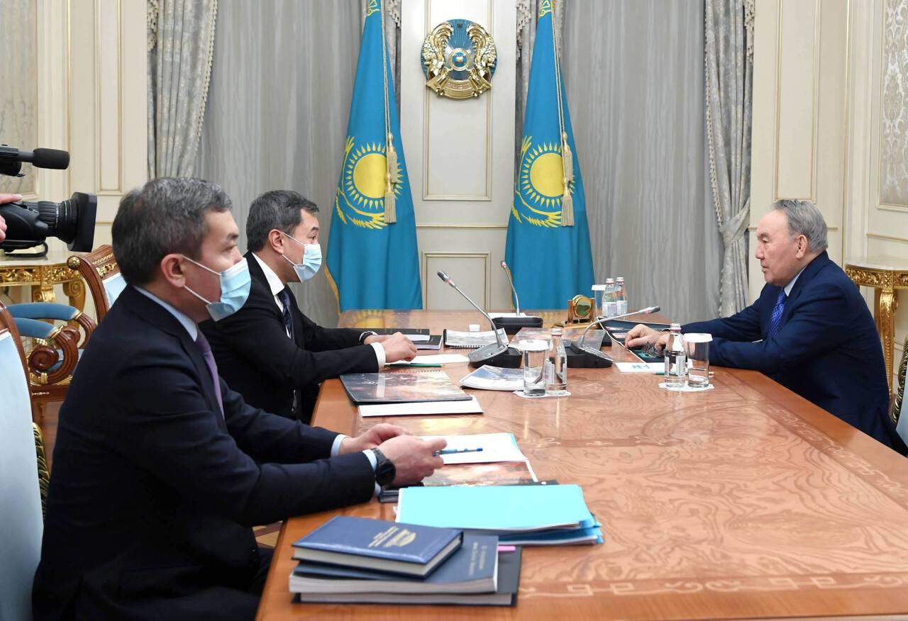 Акан Сатаев рассказал Елбасы о повышении качества отечественного кино