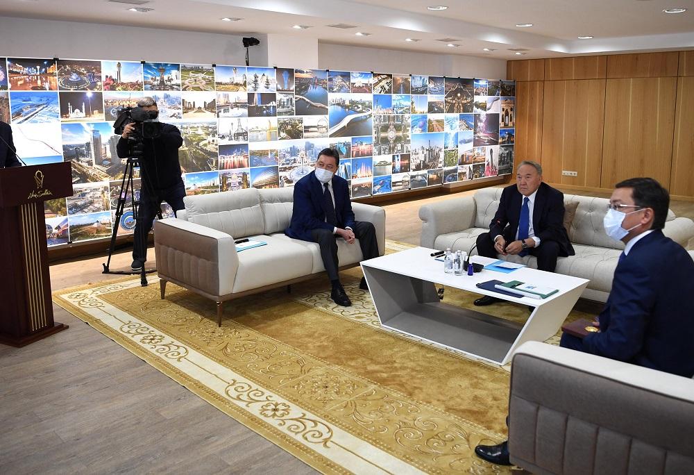 Алтай Кульгинов рассказал Нурсултану Назарбаеву о ходе застройки стоицы