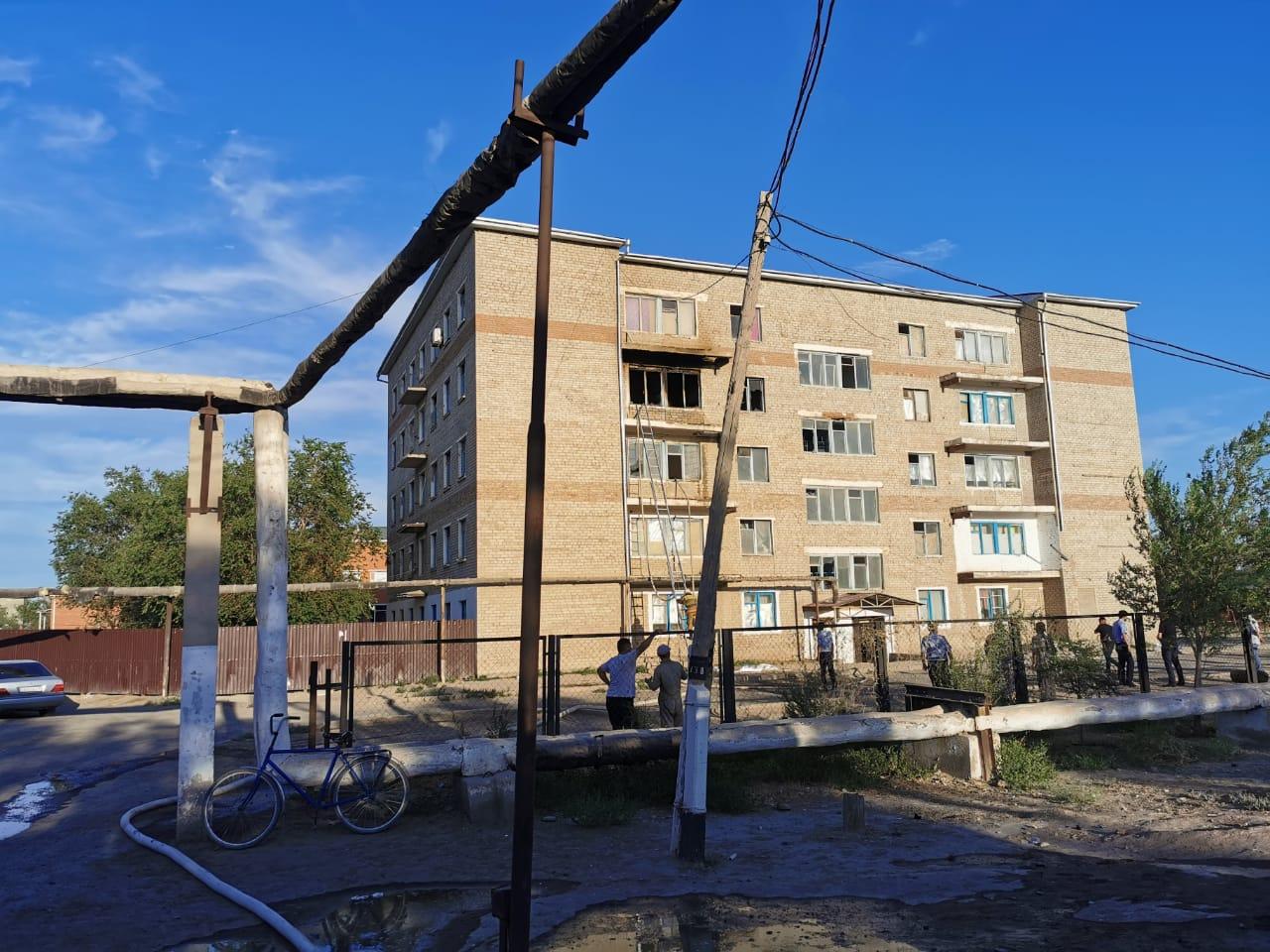 В Кызылординской области в пожаре погиб 5-летний мальчик