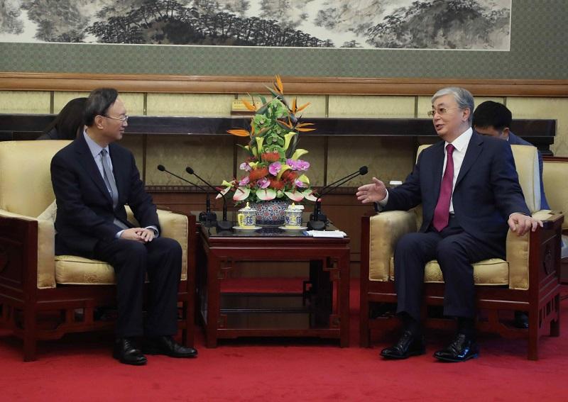 Касым-Жомарт Токаев отметил важность своего визита в Китай