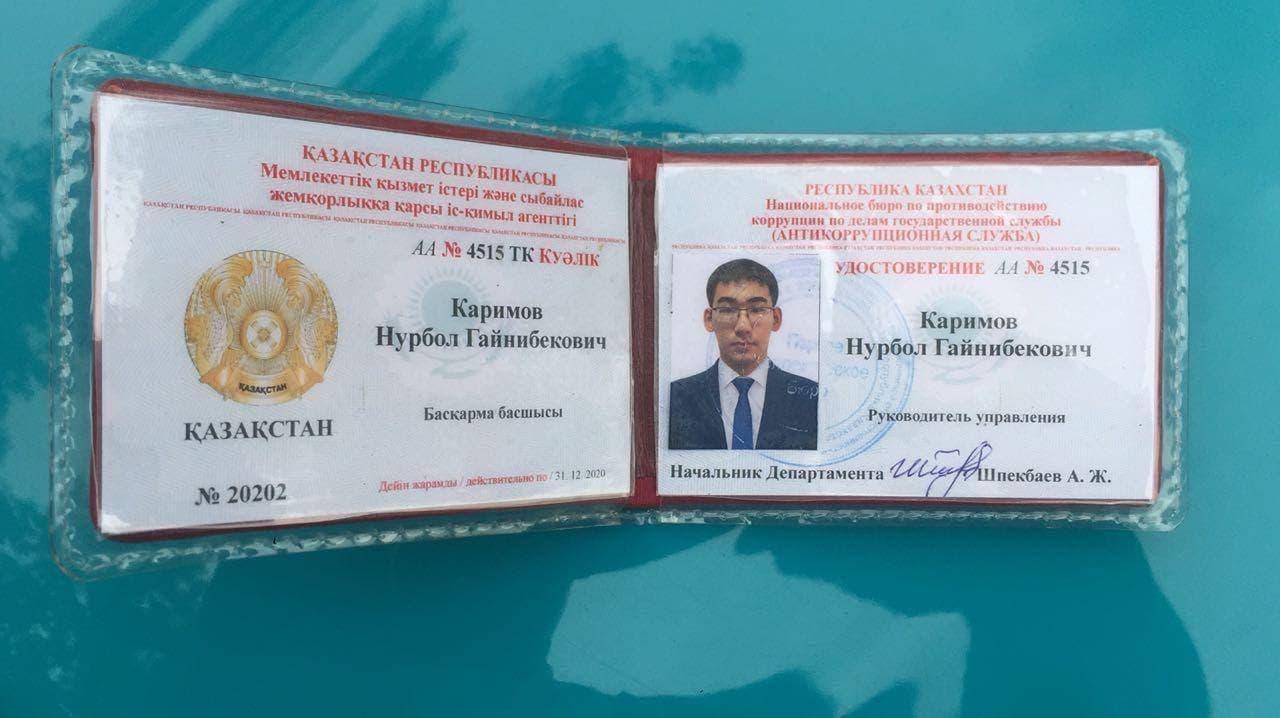 24-летний житель Шымкента кошмарит полицейских Алматы