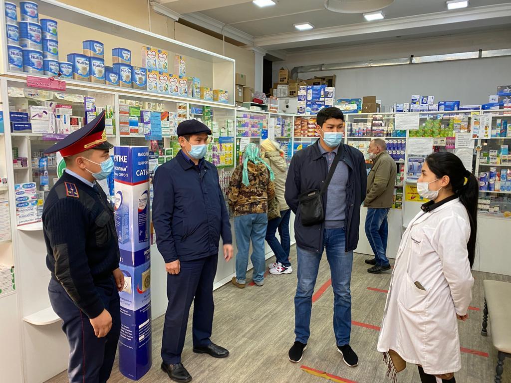 В Алматы проводится усиленный мониторинг соблюдения карантина
