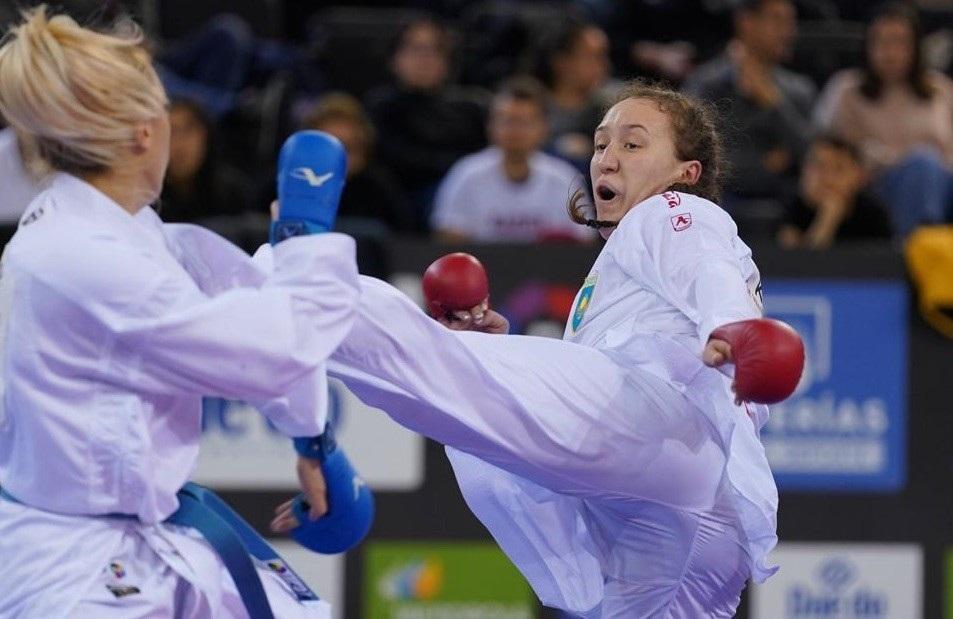 Премьер-лига Karate 1: казахстанцы завоевали четыре бронзы