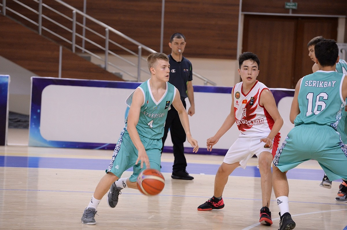 Баскетболисты Казахстана U-16 разгромили сборную Кыргызстана