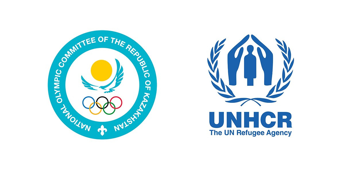 Беженцы получают олимпийскую поддержку в Казахстане