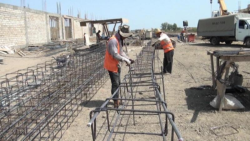 Объем стройработ в Казахстане в январе-апреле увеличился на 5,5%