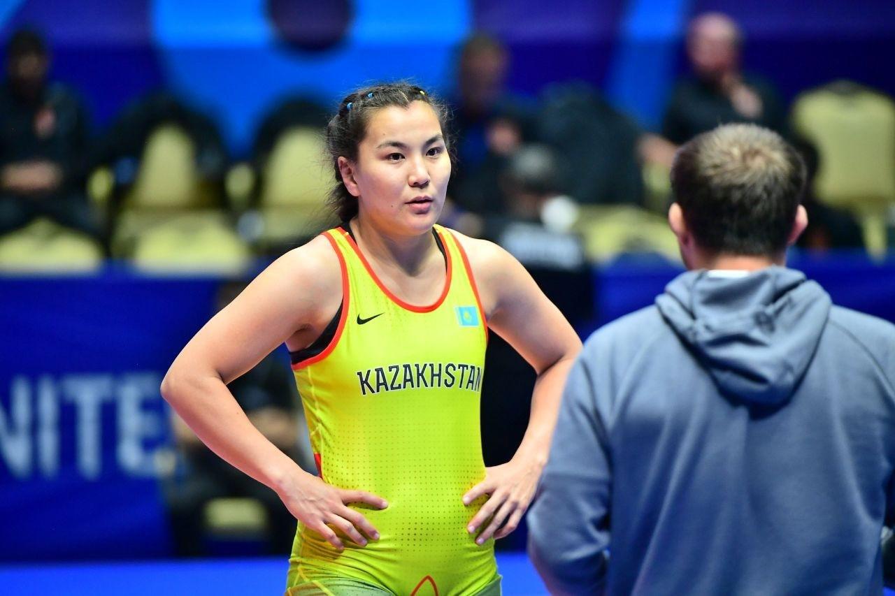 Чемпионат Азии по женской борьбе: у Казахстана четыре бронзы