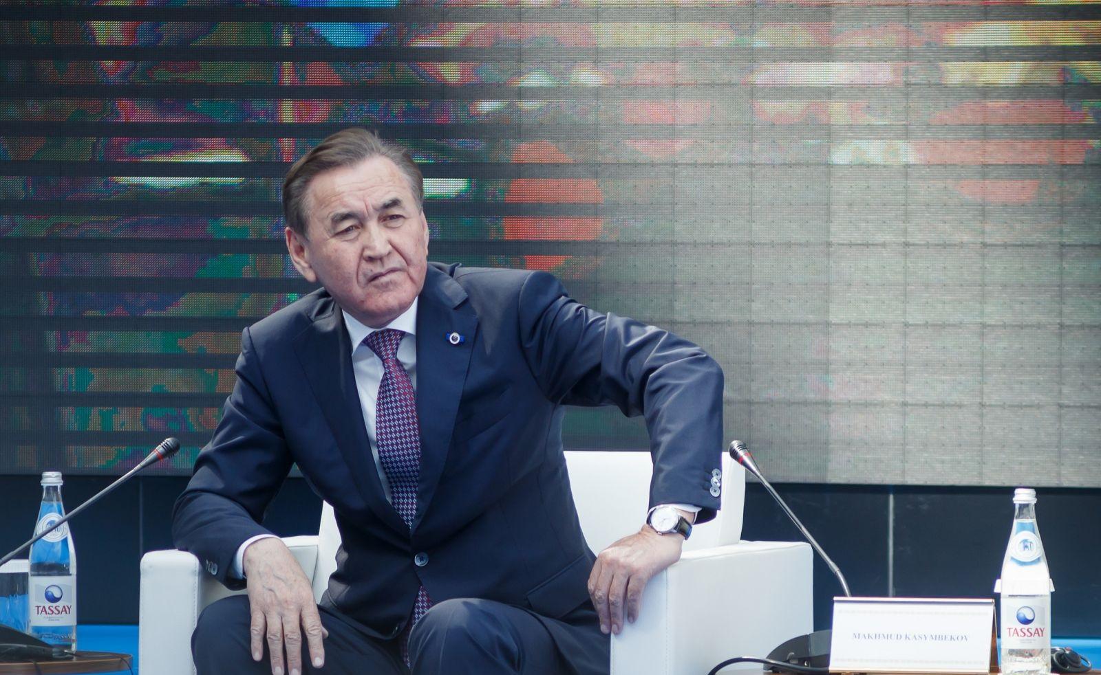 Қасымбеков Махмуд Базарқұлұлы, Махмуд Қасымбеков, президент әкімшілігі