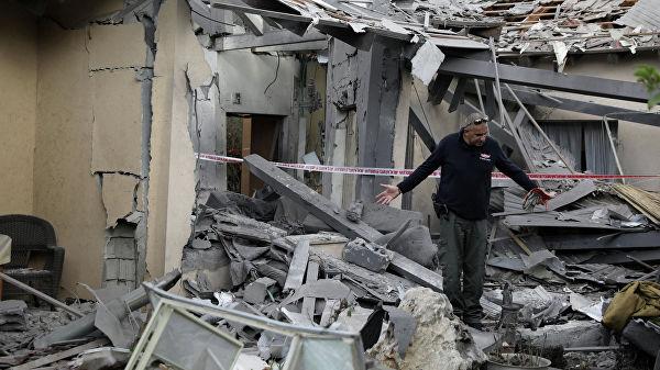 Ракетный обстрел Израиля из Газы: семь пострадавших