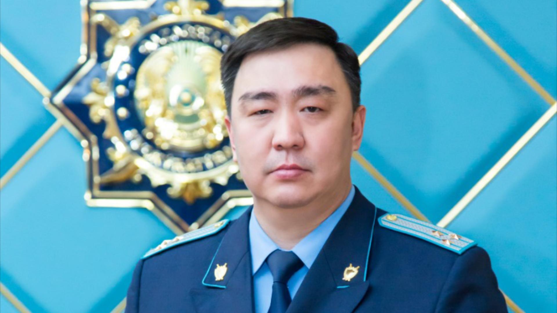 Досье: Бижанов Ерлан  Дауренович, Ерлан Бижанов, досье, прокурор Кызылординской области