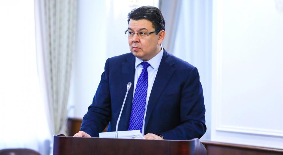 Досье: Бозумбаев Канат Алдабергенович, Канат Бозумбаев,  Министр энергетики
