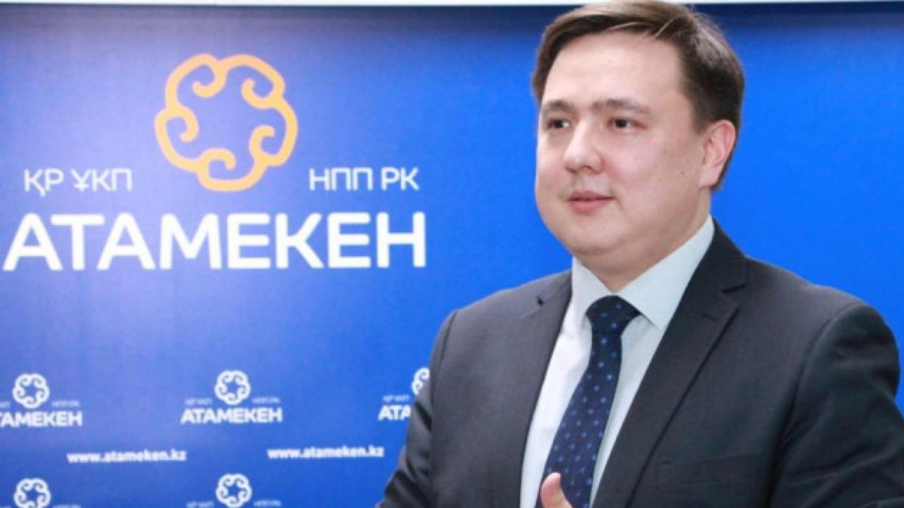 Досье: Букейханов Нуралы Алимович, Нуралы Букейханов, досье, НПП Атамекен
