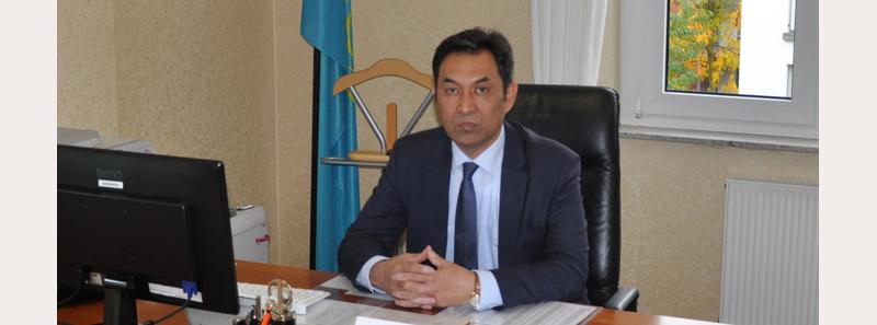 Досье: Карипов Даурен Айтбаевич,  досье, посол Казахстана в Германии,Даурен Карипов
