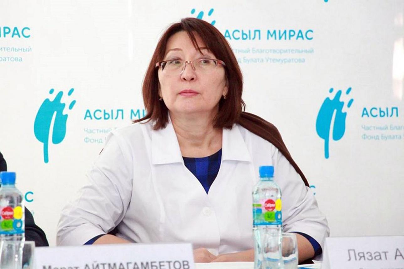 Досье: Актаева Лязат Мейрашевна,  Лязат Актаева , Вице-министр здравоохранения РК