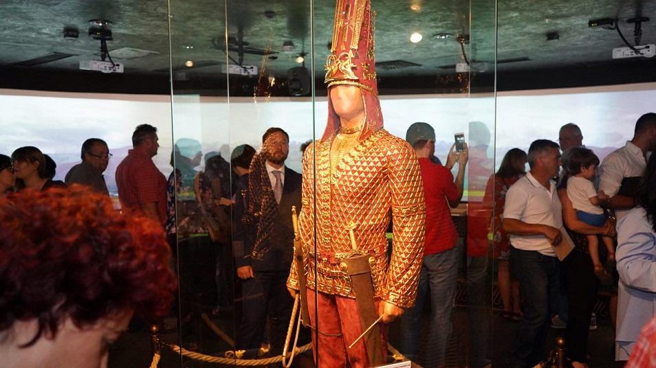 Қазақстан Алтын Адамы Македонияға келді