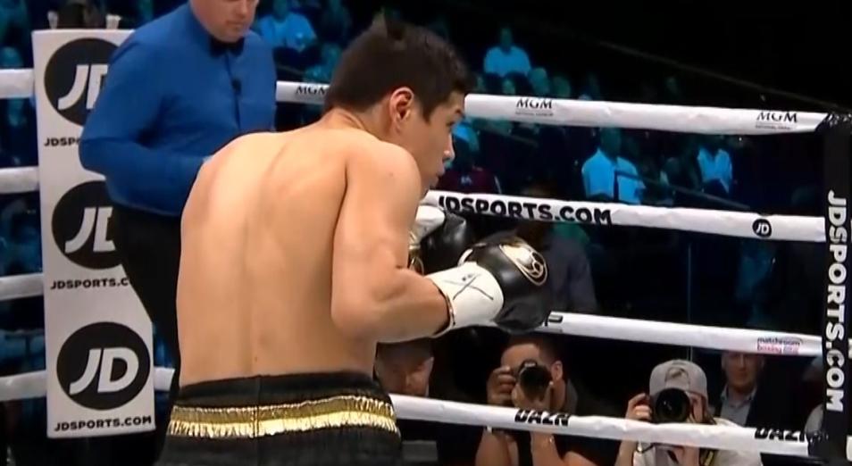 Елеусинов «подбил» экс-чемпиона WBC
