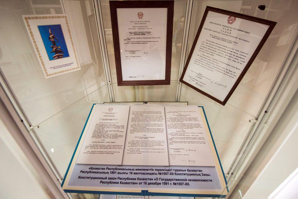 Декларация о суверенитете Казахстана – основа независимости