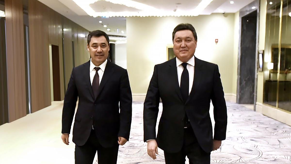 Визит Садыра Жапарова в Казахстан придаст новый импульс дальнейшему укреплению сотрудничества – Мамин