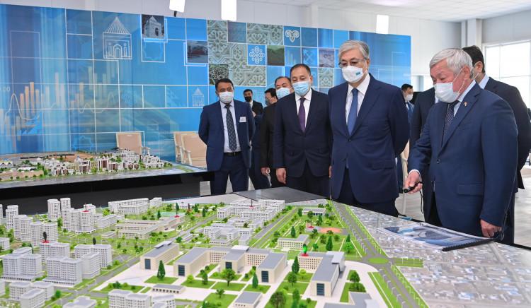 В целом регион интенсивно развивается –Токаев – о Жамбылской области