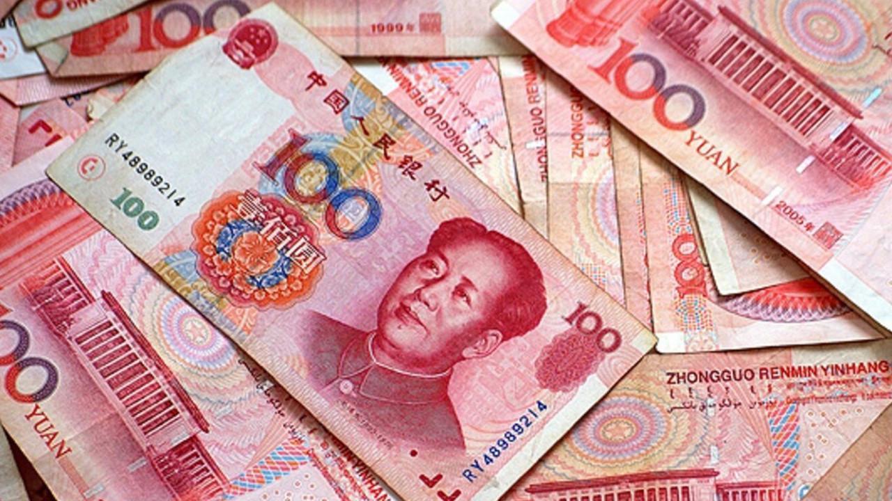 Курс юаня вырос до трехлетнего максимума