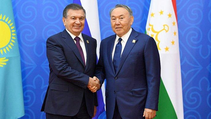Мирзиёев и Назарбаев обсудили узбекско-казахстанское сотрудничество и ситуацию в Афганистане