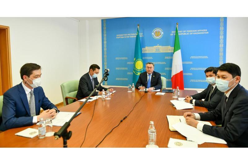 Қазақстан мен Италия парламентаралық диалогты жандандырмақ