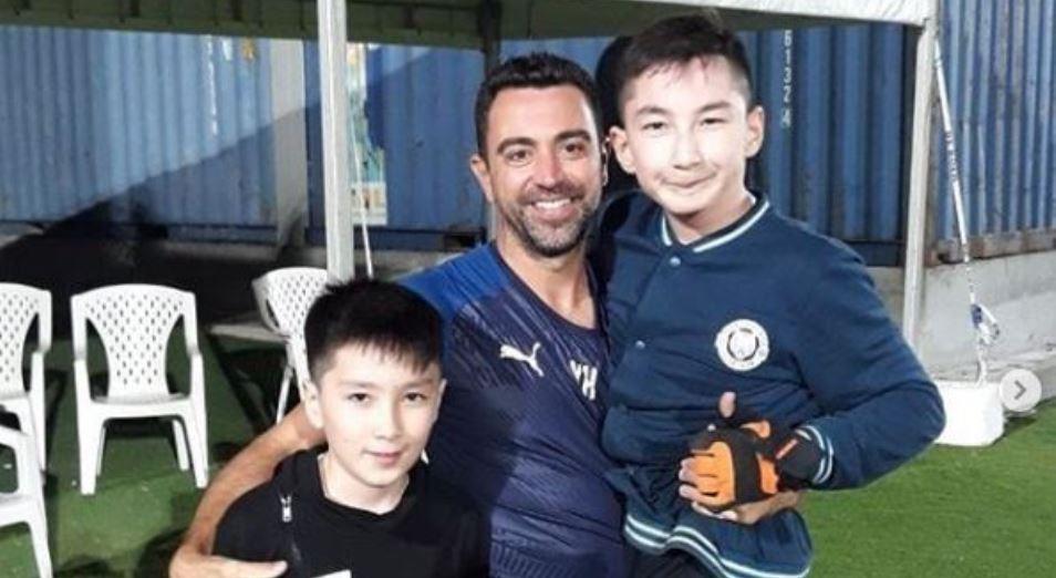 Казахстанский «Ник Вуйчич» получил пас от Хави