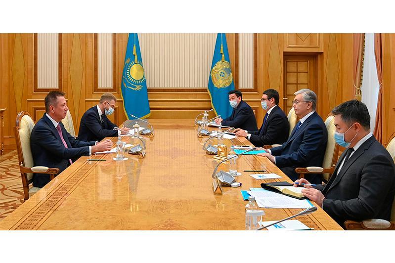 """Мы должны действительно достичь практического результата – Токаев – главе """"СИБУРа"""""""