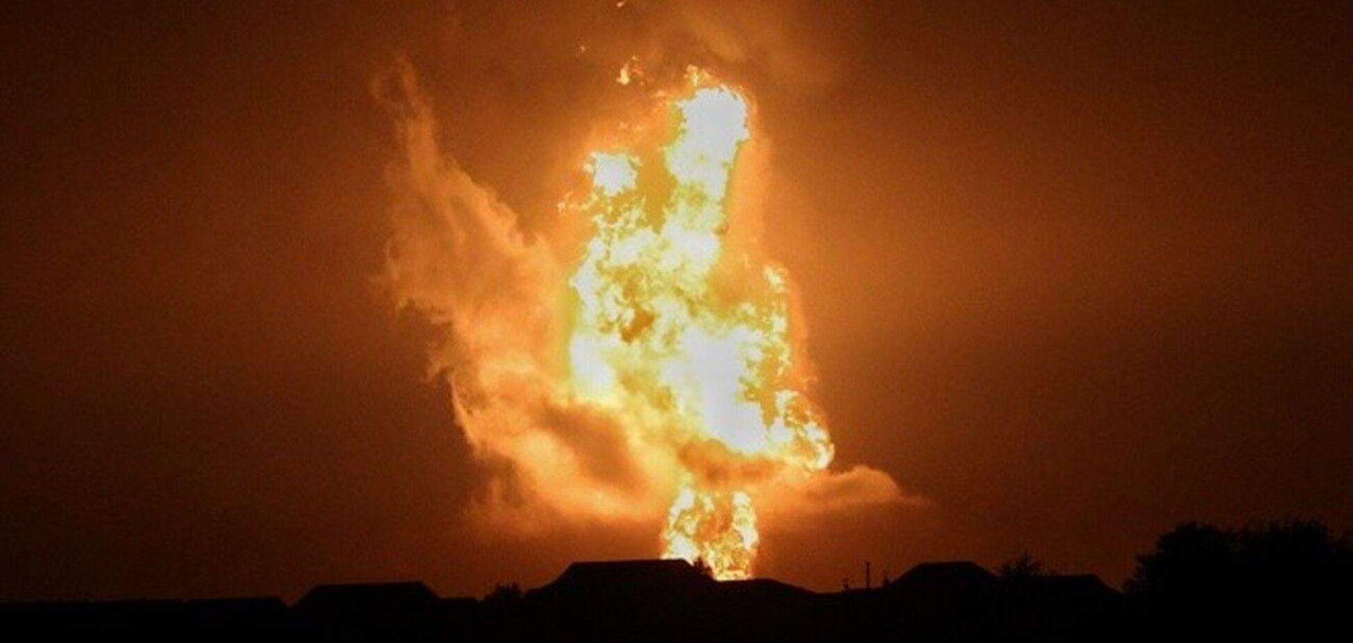 Назвали возможную причину взрыва в Каспийском море
