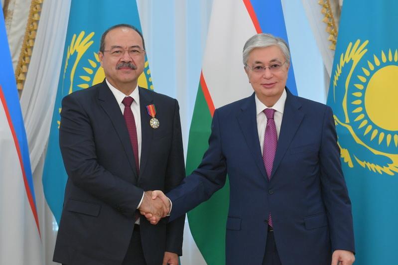 О чем говорил Касым-Жомарт Токаев с премьер-министром Узбекистана