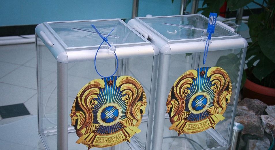 В Казахстане завершилась предвыборная агитация партий