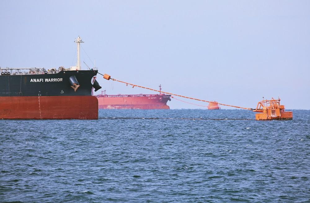 Сколько на Морском терминале КТК в феврале было перевалено тонн нефти